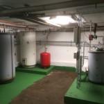Värmepumpsinstallation för industrifastighet i Bålsta Håbo. Två stycken Nibe luft/vatten värmepumpar.